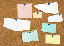 Empty paper blanks for your text or design Royalty Free Stock Images
