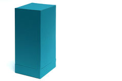 Empty paper box Royalty Free Stock Image