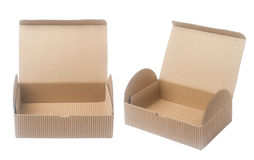 empty paper box Royalty Free Stock Photography
