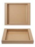 Empty paper box Stock Photography