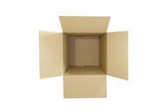 Empty paper box Stock Photos