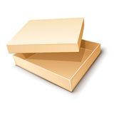 Empty paper box vecto Royalty Free Stock Photos