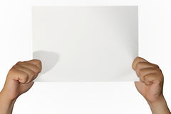 Empty Paper Royalty Free Stock Photography