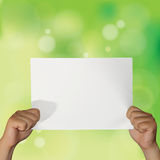 Empty Paper Stock Photography