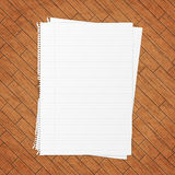 Empty paper sheet. Royalty Free Stock Photo