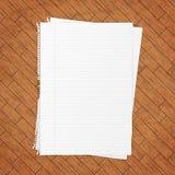 Empty paper sheet. Royalty Free Stock Photo