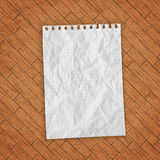 Empty paper sheet. Stock Photo