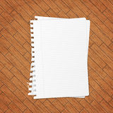 Empty paper sheet. Royalty Free Stock Photography