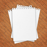 Empty paper sheet. Stock Photography
