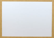 Empty Paper Sheet Stock Photography