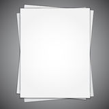 Empty Paper Sheet Stock Photos