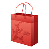 Empty paper shopping bag Stock Photography