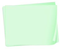 Empty paper templates Royalty Free Stock Images