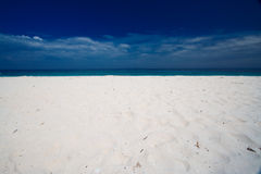 Empty paradise beach Royalty Free Stock Image