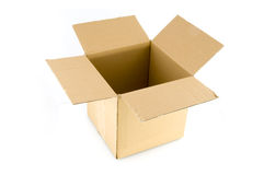 Empty parcel Royalty Free Stock Photography