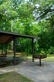 Empty Park Pavilion Stock Image