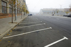 Empty parking Stock Photography