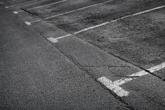 Empty parking. Background texture Royalty Free Stock Images