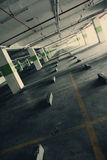 Empty Parking Building royalty free stock image