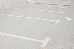 Empty parking for cars Royalty Free Stock Photography