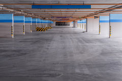 Empty parking garage on the building Royalty Free Stock Photography