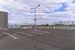 Empty Parking Garage Royalty Free Stock Photo