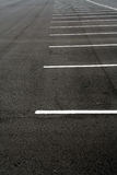 Empty Parking Lot. Parking lot with no cars Stock Photography