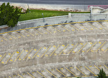 Empty parking lot. In front of the parliament building in Baton Rouge Royalty Free Stock Images