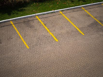 Empty Parking Space Royalty Free Stock Images
