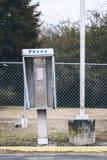 Empty payphone box Stock Photography
