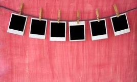 Empty pcture frames Stock Photography