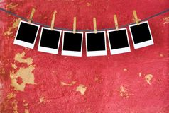 Empty pcture frames, Royalty Free Stock Images