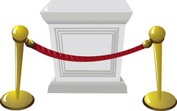 Empty Pedestal Royalty Free Stock Images