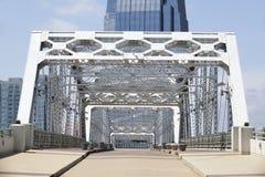 Empty Pedestrian Bridge Royalty Free Stock Image