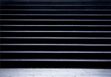 Empty pedestrian stairs in city subway passage Royalty Free Stock Image