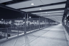 Empty Pedestrian Walkway Royalty Free Stock Images