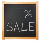 Empty percent sale title Stock Images