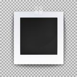 Empty photo backdrop or old blank frame Royalty Free Stock Image