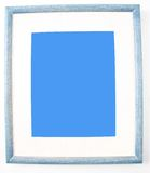 Empty photo frame. Photo frame with empty space for your picture Stock Photography