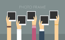 Empty photo frame. Royalty Free Stock Photography