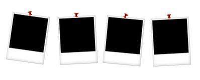 Empty photo frames Royalty Free Stock Photo
