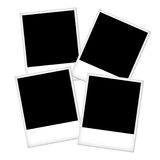 Empty photo frames Stock Photo
