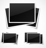 Empty photo frames Stock Photos