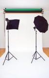 Empty Photo Studio Royalty Free Stock Image