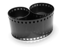 Empty photographic film Stock Photos