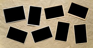 empty photographic frames, Royalty Free Stock Photography
