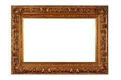 Empty picture frame Stock Images
