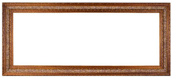 Empty picture frame. With fabric inserts isolated on white stock photo