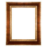 Empty picture frame isolated Stock Image