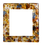 Empty picture frame isolated Stock Images